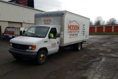 Modern Construction Box Truck Graphics 01